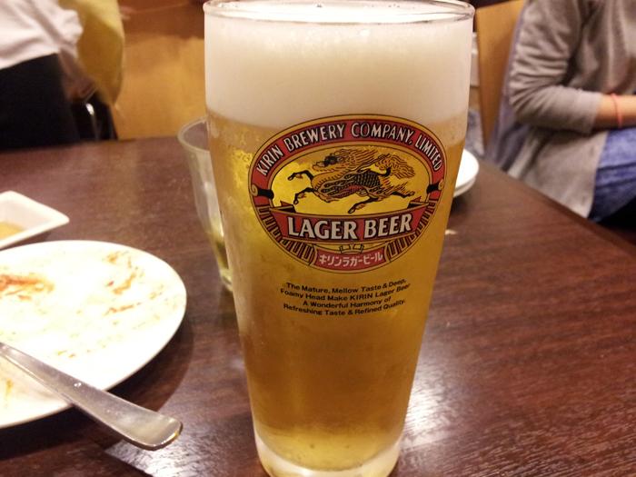 禁断の生ビール