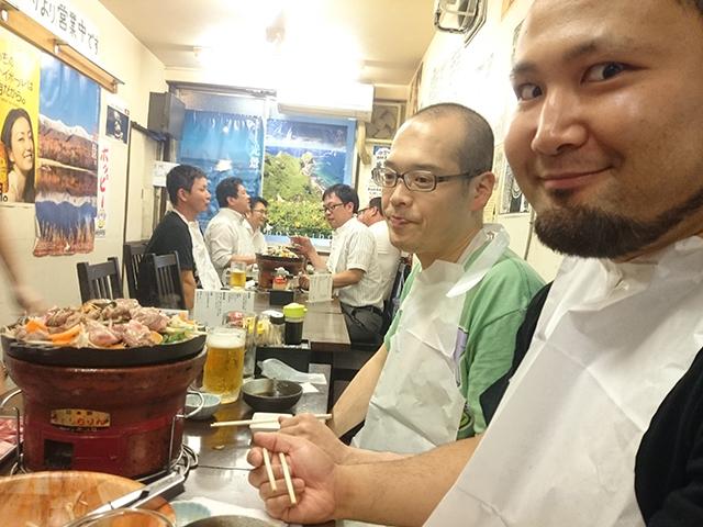 レスラー仲間で行く楽しいジンギスカン食べ放題【池袋・楽太郎】