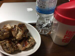 トレーニング後の食事