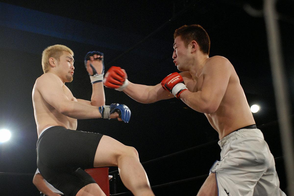 総合格闘技の最後の試合となったDEEPでの岩見谷智義戦