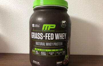 MusclePharm Natural, 牧草飼育ホエイプロテイン