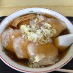 侍 醤油ラーメン