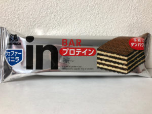 森永製菓 inバープロテイン バニラ